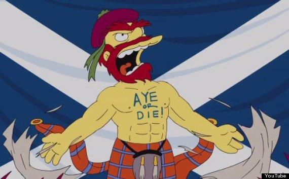 groundskeeper willie scottish independence