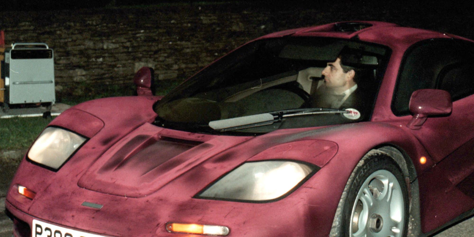 Rowan Atkinson Crashes In Head-On Collision In Goodwood ...