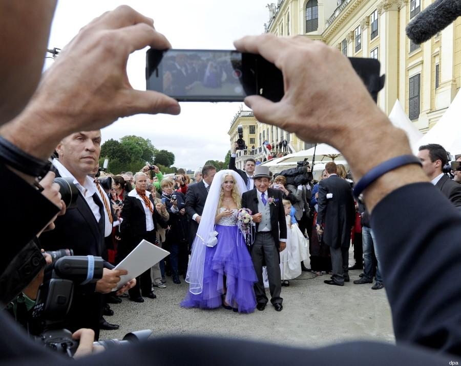 Lugner Hochzeit