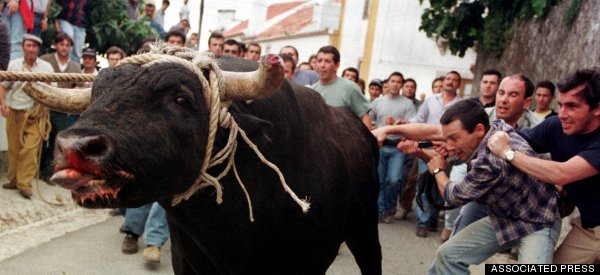 2 Men Fatally Gored By Bull Won't Stop Portuguese Festival