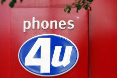 A Phones 4u sign | Pic: PA