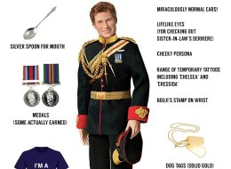Prince Harry: The 30th Birthday Commemorative Doll