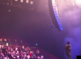 The Awkward Moment Kanye Tells A Man In A Wheelchair To Stand Up At His Concert (VIDEO)