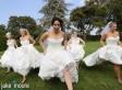 Childhood Best Friends Back In Their Wedding Dresses
