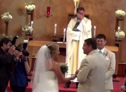 Father Of The Bride's Moving Song Brings Wedding Party To Tears