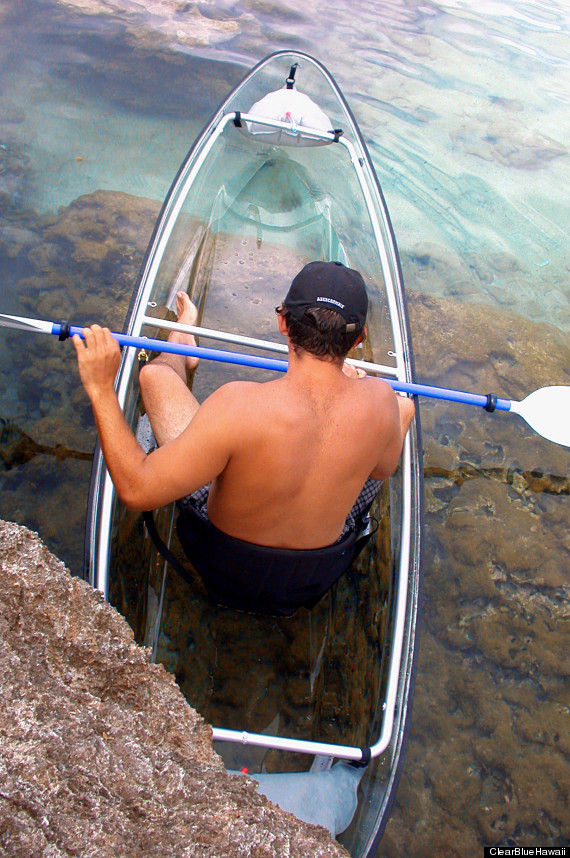 the durability of the clear kayak has been tested to