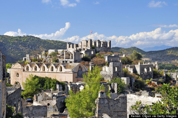 For Halloween, You Should Visit This Turkish Ghost Town  HuffPost