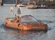 CHECK IT OUT: Ripley's Wooden Ferrari Looks Like A Car, Rides Like A Boat