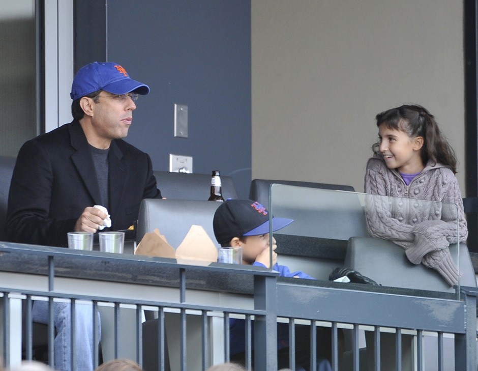 jerry seinfeld kids. Jerry Seinfeld Brings His Kids