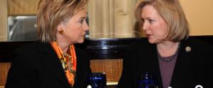 Kirsten Gillibrand Hillary Clinton