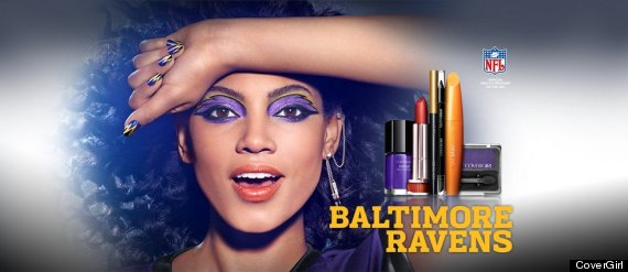 baltimore ravens covergirl