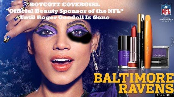 baltimore ravens covergirl