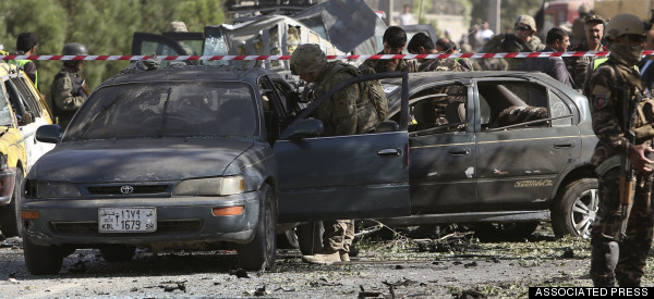 Deadly Attack Near U.S. Embassy In Kabul