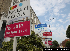 House Prices Rise Uk