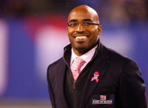 Tiki Barber Booed Ring Of Honor Video