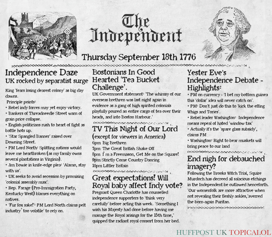 scottish independence spoof 1776