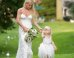 Jessica Simpson Wows In White Bridesmaid Dress At Sister Ashlee's Wedding
