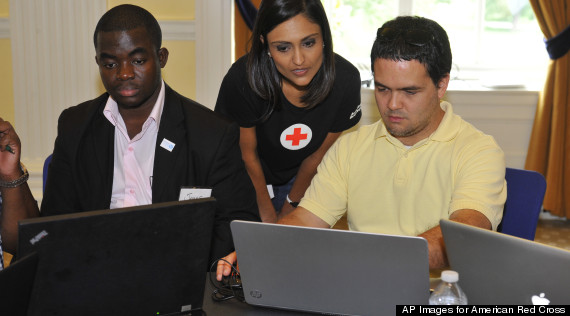 american red cross west africa