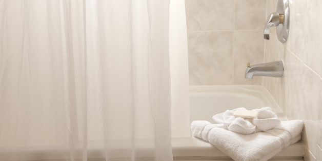 How often to replace shower curtain liner curtain for How often to clean bathroom
