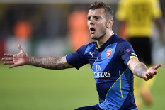 Arsenal's Jack Wilshere | Pic: PA