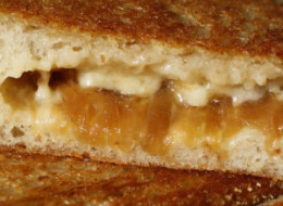 Franglais: French Onion Soup Grilled Cheese Sandwiches