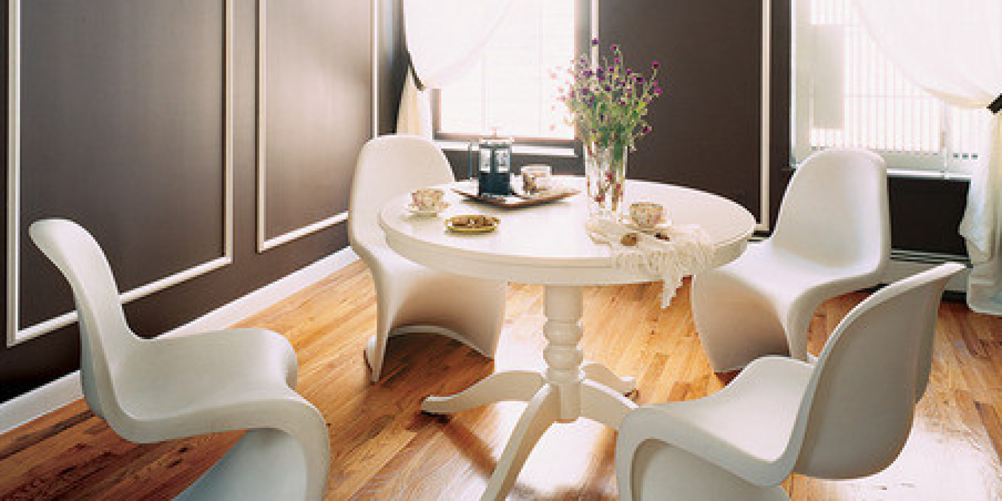 The best dining room paint colors domino for The best dining rooms
