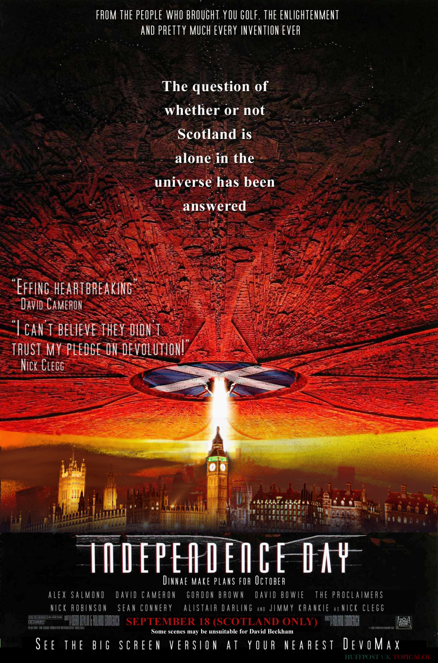 independence day scotland spoof