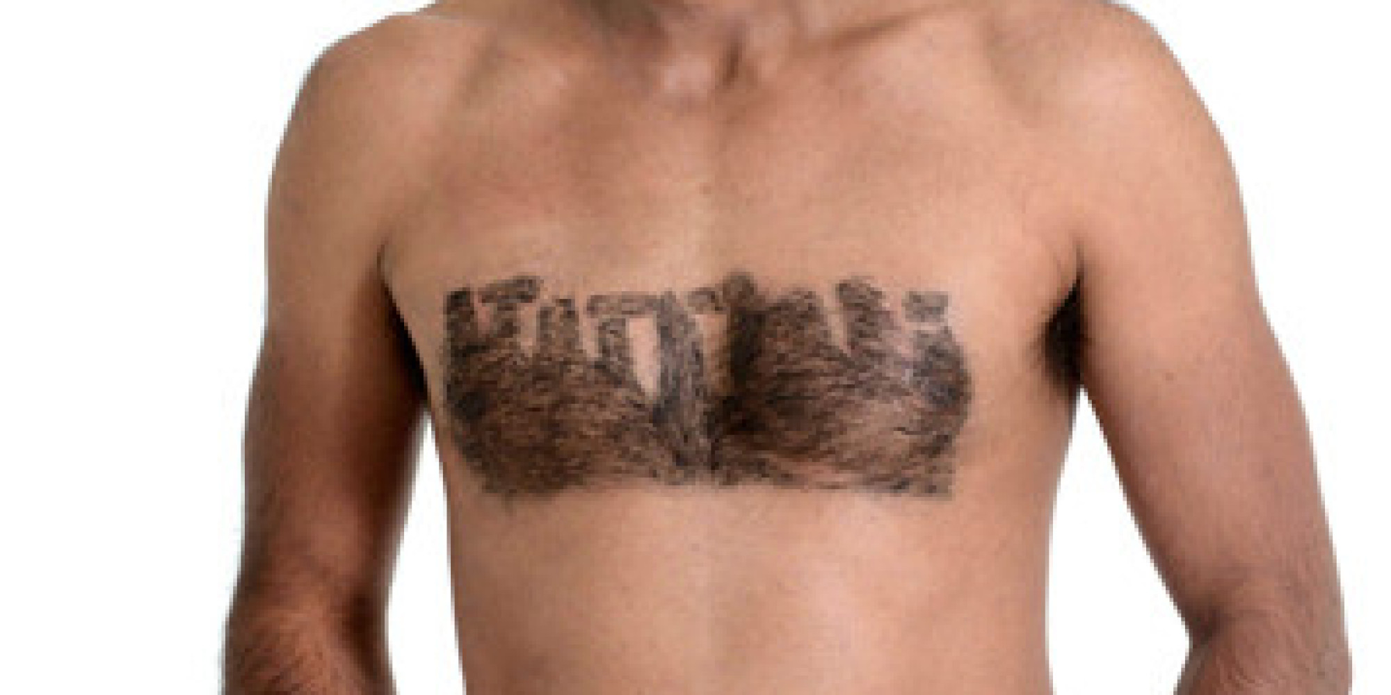 Manscaping Before and After