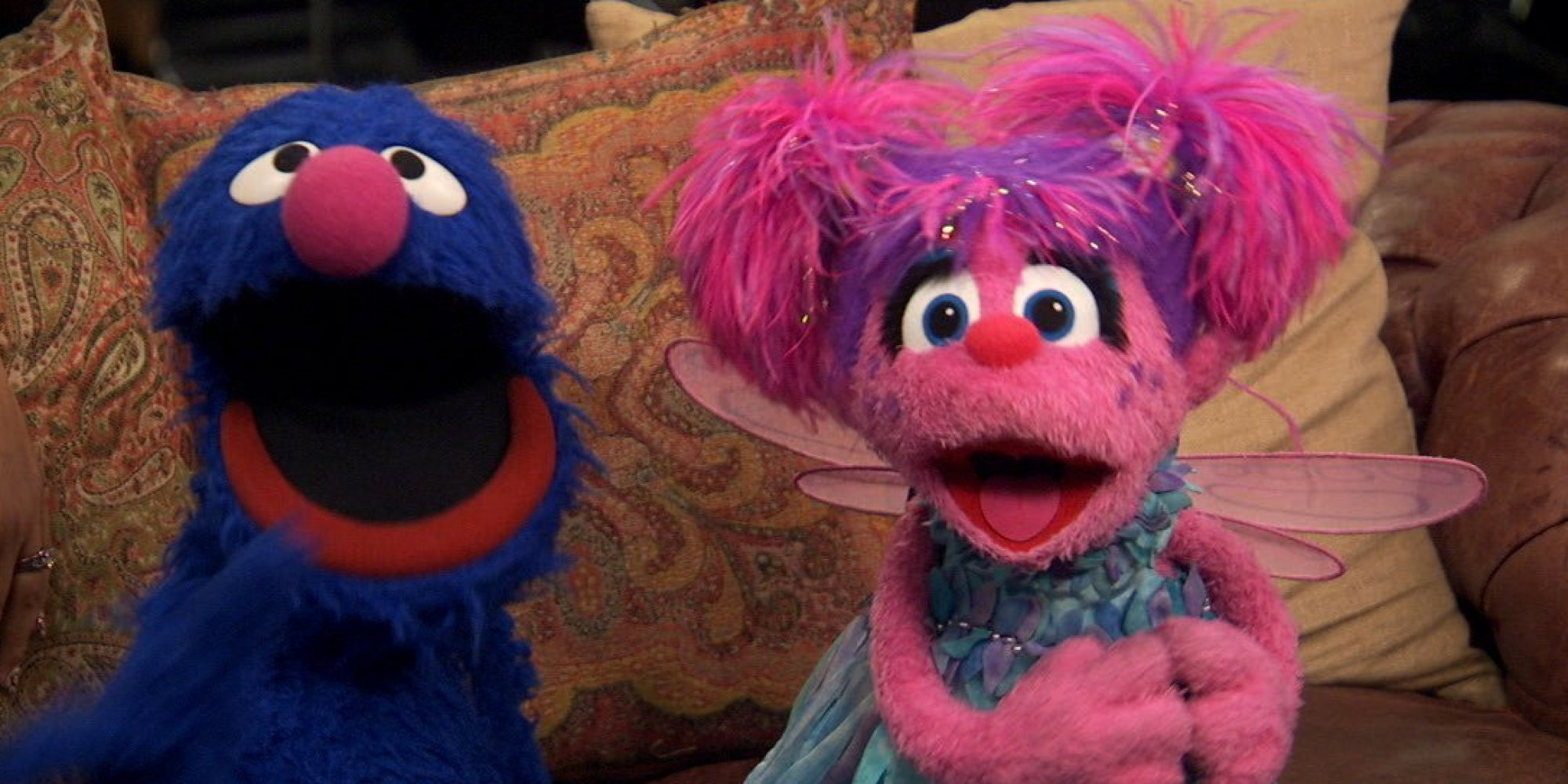 Grover And Abby Cadabby From Sesame Street Explain Why