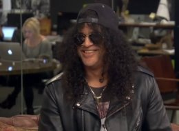 Rocker Slash Says He's A Total Pushover Father