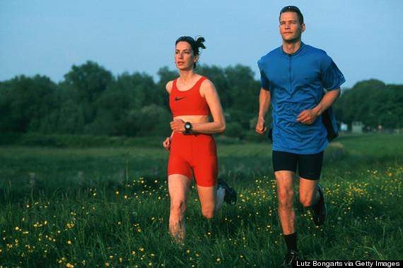 exercising 1990s