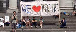 Bc Teachers Rally