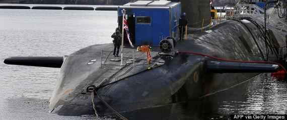 scotland nuclear submarines