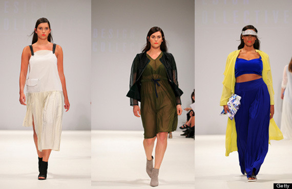 Plus Size Runway Show At London Fashion Week Proves High Fashion Is