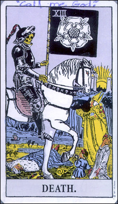 tarot card of the sniper
