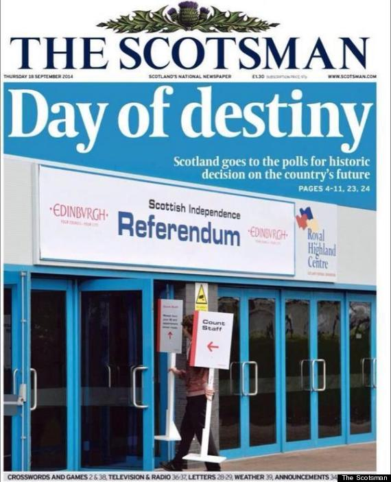 scotsman independence