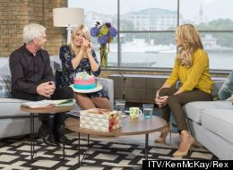 Holly Moved To Tears In Final 'This Morning' Before Maternity Leave
