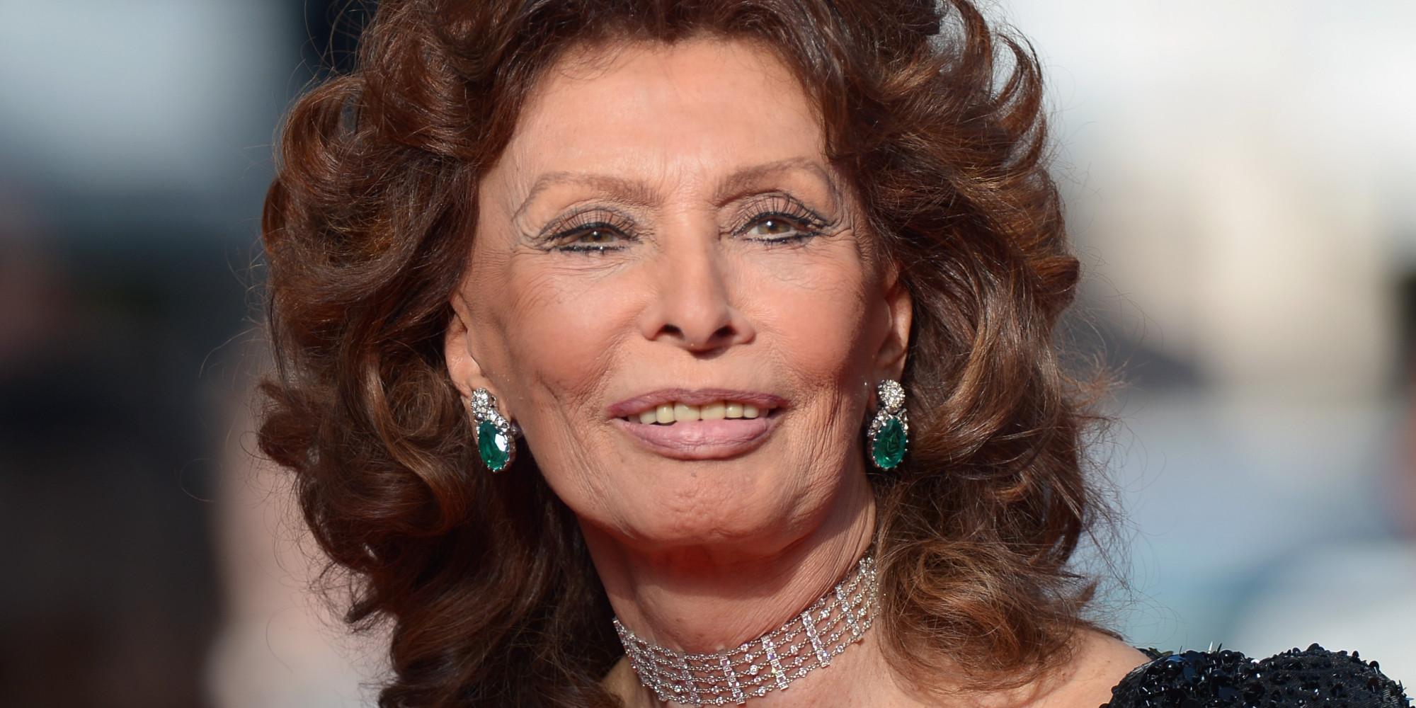 tips sophia loren 2017s alternative hair style of the beautiful cute actress - Sophia Loren Hair Color
