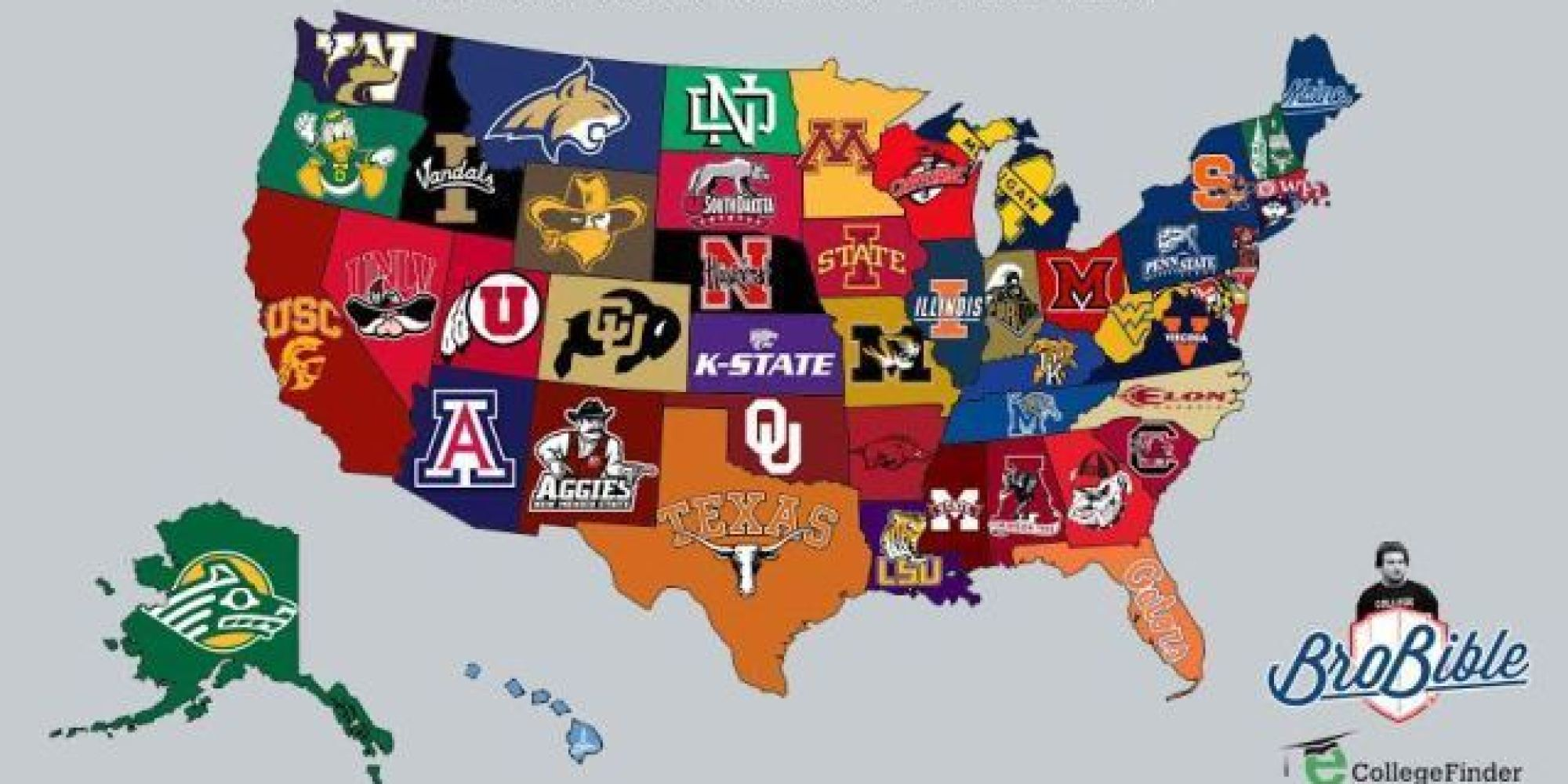 United States Supreme >> BroBible's Frattiest Colleges In America | HuffPost