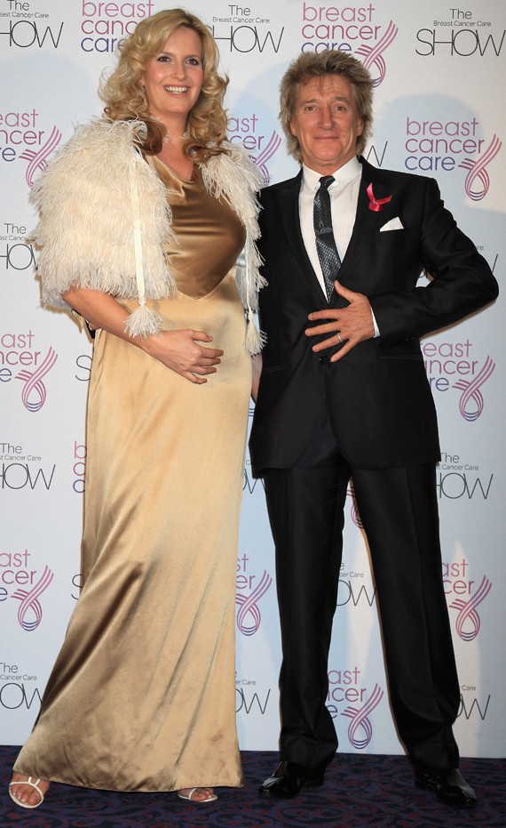 Penny Lancaster Shows Off Her Baby Bump Photos Huffpost
