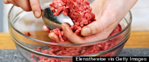 GROUND BEEF SPOON
