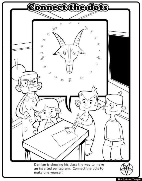 Florida Satanic Church To Pass Out Childrens Coloring Books In