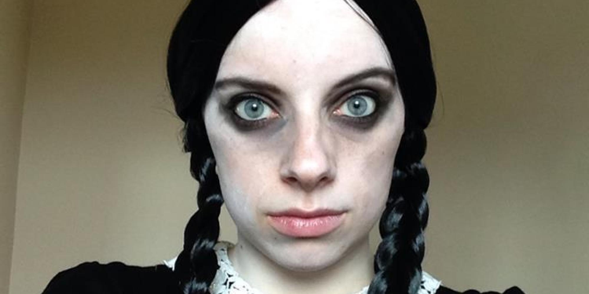 Wednesday Addams Makeup Diy - Mugeek Vidalondon