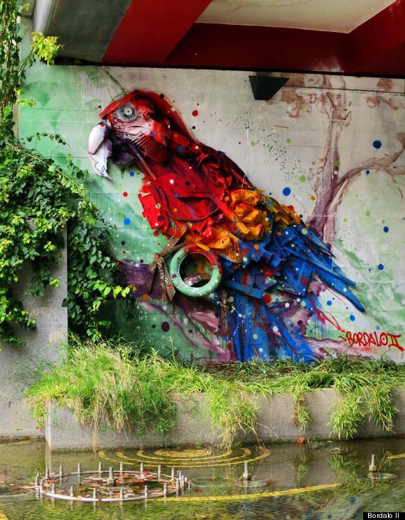 bordalo bird