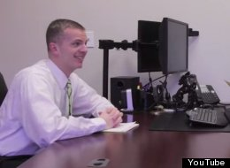 Two Adults Act Out A Kids' Pretend Job Interview, And It's Very Funny Indeed