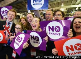 Le Non de l'Écosse et nous