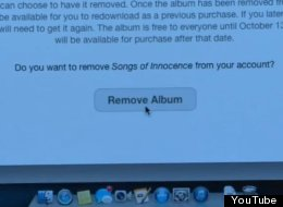 Finally, Apple Offers A Total U2 Removal Service