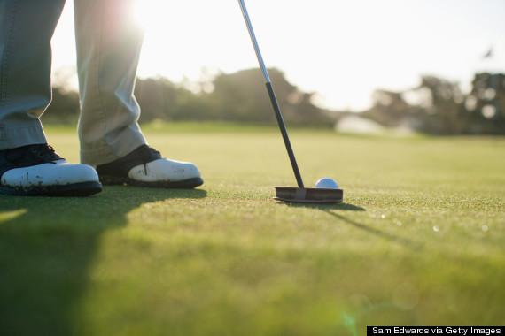 golf game sleep
