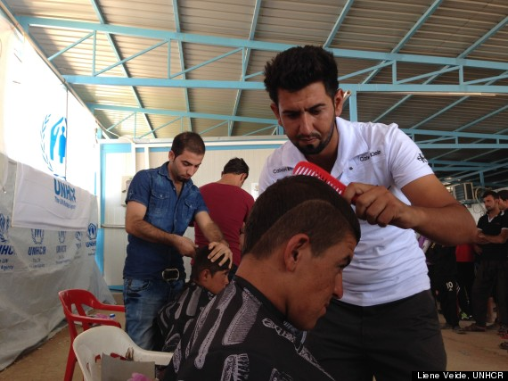 syrian barber shops