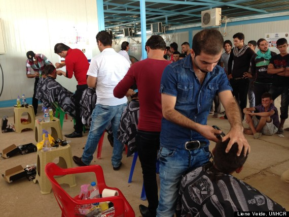 barbers in syria
